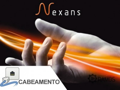 NETCOM 2015 – Rack da Nexans com Patch Panel Gerenciável