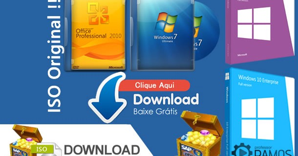 Como fazer o download de qualquer ISO do Windows ou Office Original