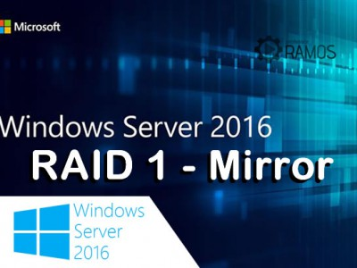 🔴 Administrando Windows Server 2016 | Criando Espelhamento de Discos – RAID 1