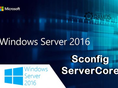 🔴 Administrando Windows Server 2016 | Configuração do ServerCore via SCONFIG – aulaEAD