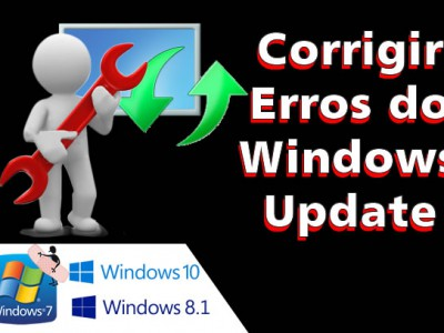 ❌ Corrigir erros do Windows Update – Windows 10 8.1 e 7