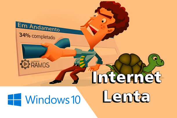😡 Internet Lenta com o Windows 10? ⏳ Veja a Dica !!! ☁