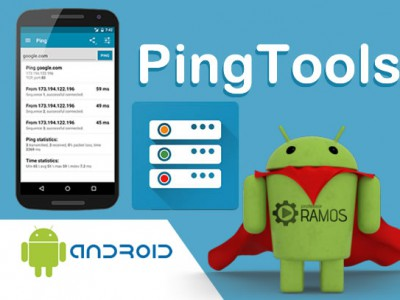 ⚠ App PingTools Network Utilities Android