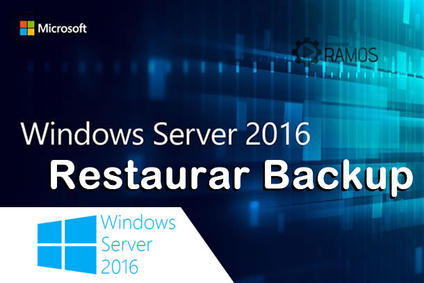 🔴 Windows Server 2016 | Como Recuperar um Backup – www.aulaEAD.com