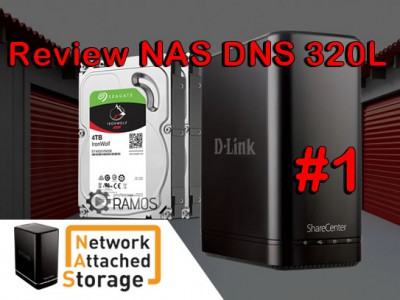 🚀 Review do NAS D-Link ShareCenter DNS-320L | Network Attached Storage | Unboxing