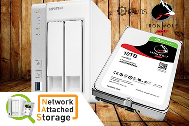 🚀 NAS QNAP TS-231P com HD Seagate Ironwolf  | Review – Análise 💠 Network Attached Storage  #1