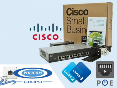 ⚡Review Cisco SG300-10MPP 10-port Gigabit PoE+ Managed Switch ⚡ Cisco Small Business | Grupo Policom